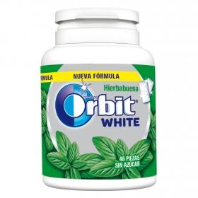 Chicles sabor hierbabuena White Orbit 46 ud.