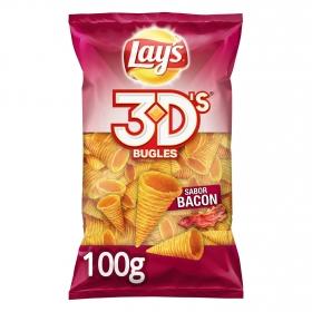 Conos de maíz 3D's sabor bacon