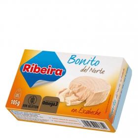 Bonito del norte en escabeche Ribeira sin gluten 72 g.