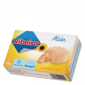 Atún en aceite de girasol Ribeira sin gluten 143 g.