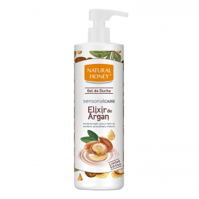 Gel de ducha Elixir de Argan Natural Honey 750 ml.