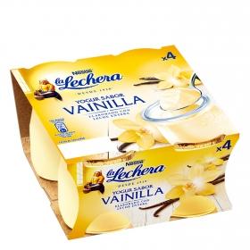 Yogur sabor vainilla