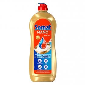 Lavavajillas a mano Poder Azul Somat 650 ml.