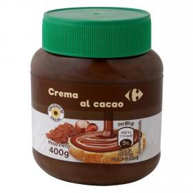 Crema de cacao con avellanas Carrefour 400 g.