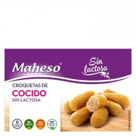 Croquetas de cocido Maheso sin lactosa 300 g.