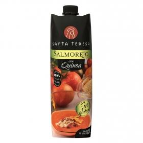 Salmorejo con quinoa sin gluten