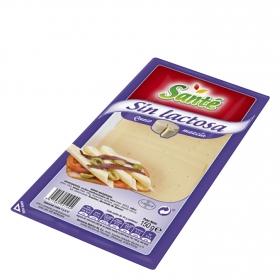 Queso en lonchas mezcla sin lactosa