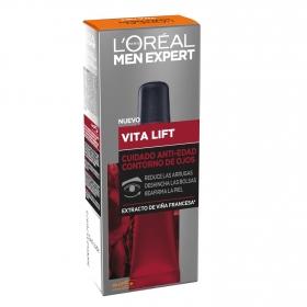 Crema contorno de ojos Vita Lift L'Oréal-Men Expert 15 ml.