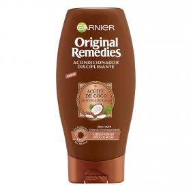 Acondicionador con aceite de coco y manteca de cacao