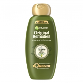 Champú nutritivo con aceite de oliva virgen Original Remedies 600 ml.