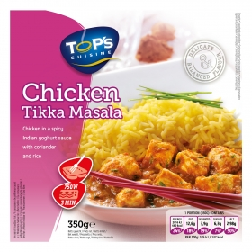 Chicken Tikka Masala Top´s cuisine 350 g.