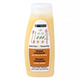 Champú revitalizante con miel de mil flores Les Cosmétiques -Nectar of Beauty 500 ml.