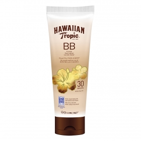 Loción solar BB Cream SPF 30 Hawaiian Tropic 150 ml.