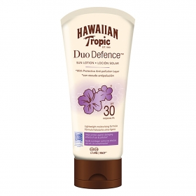 Loción solar Duo Defence SPF 30 Hawaiian Tropic 150 ml.