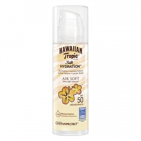 Loción solar Silk Hidration SPF 50 Hawaiian Tropic 150 ml.