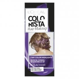 Hair Makeup Colorista 1 dia de reflejos para cabellos rubios #Lilachair