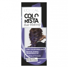 Tinte Colorista Hair Makeup Violethair L'Oréal 1 ud.
