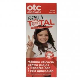 otc antipiojos y liendres spray formula total con 1 sola aplicación