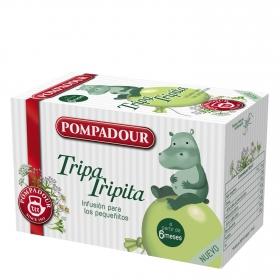 Infusión en bolsitas Tripa Tripita Pompadour 15 ud.