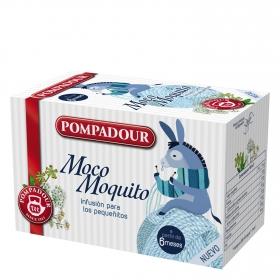 Infusión en bolsitas Moco Moquito Pompadour 15 ud.
