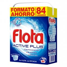 Detergente en polvo Active plus Flota 84 lav.