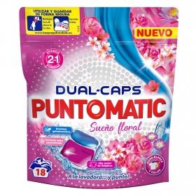 Detergente en cápsulas Sueño floral Puntomatic 18 ud.
