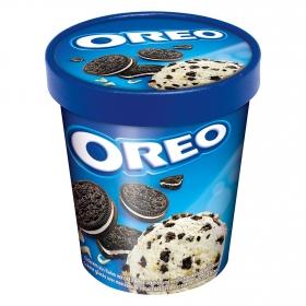 Tarrina de helado cookies