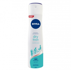 Desodorante Dry Fresh anti-transpirante spray Nivea 200 ml.