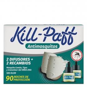 Antimosquitos 2 difusores + 2 recambios