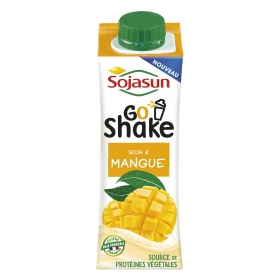 Bebida de soja y mango Sojasun botella 250 g.