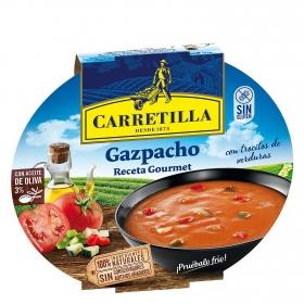 Gazpacho con trozos de verduras