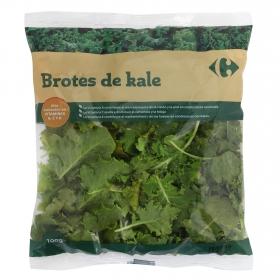Kale brotes tiernos Carrefour bolsa 100 g