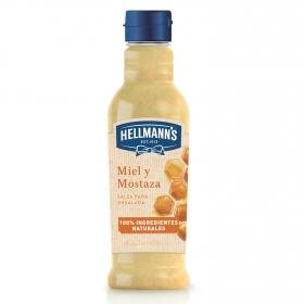 Salsa miel y mostaza Hellmann's envase 210 ml.