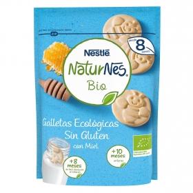 Galletas ecológicas Nestlé Naturnes sin gluten 150 g.