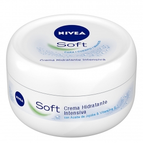 Crema hidratante intensiva Soft Nivea 100 ml.