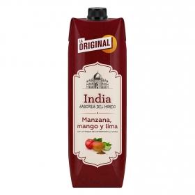 Zumo de de manzana, mango y lima La Original India brik 1 l.