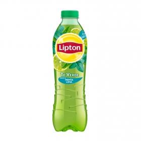 Refresco de té verde Lipton sabor menta-lima botella 1 l.