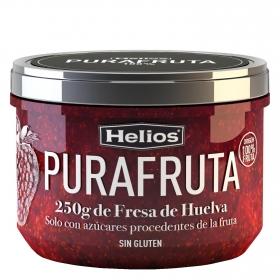 Mermelada de fresa Helios sin gluten 250 g.