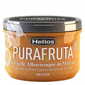 Mermelada de albaricoque Purafruta Helios si gluten 250 g.