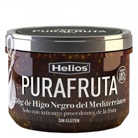 Mermelada de higo negro Purafruta Helios sin gluten 250 g.