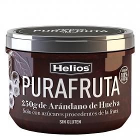 Mermelada de arándano Purafruta Helios sin gluten 250 g.