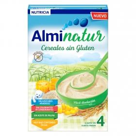 Papilla de cereales natur Almirón sin gluten 250 g.