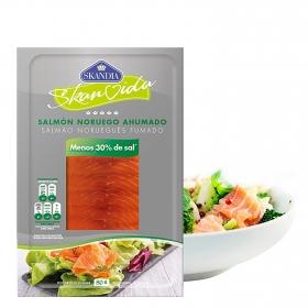 Salmón noruego ahumado -30% sal
