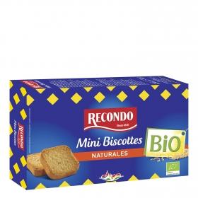 Biscottes mini ecológicos Recondo 120 g.