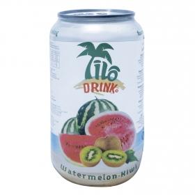 Gaseosa Ilo Drink sabor sandía y kiwi lata 33,5 cl.
