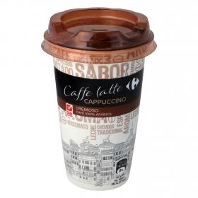 Café latte cappuccino Carrefour sin gluten 250 g.
