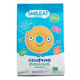 Galletitas de espelta y fruta ecológicas Smileat 220 g.