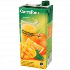 Néctar de mango y naranja