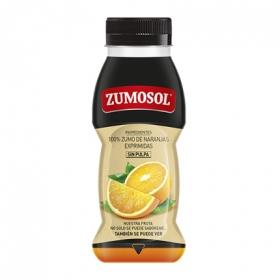 Zumo de naranja sin pulpa