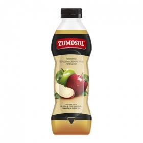Zumo de manzana exprimida